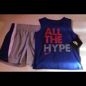 Nike Boys Top & Short Set 12 Months NWT