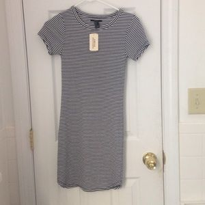 Forever 21 Dresses & Skirts - Nwt striped t shirt dress