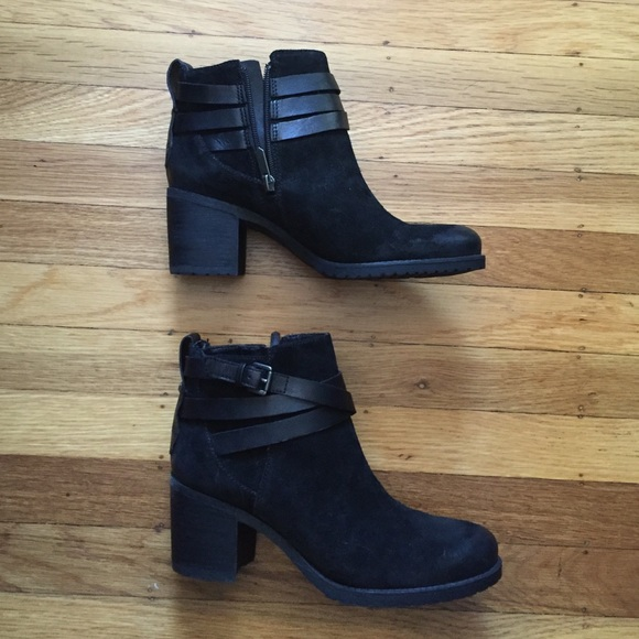 64bcac5ac NEW Sam Edelman suede leather ankle boots buckle