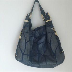 Steven by Steve Madden Handbags - Steven by Steve Madden Blue Leather Purse