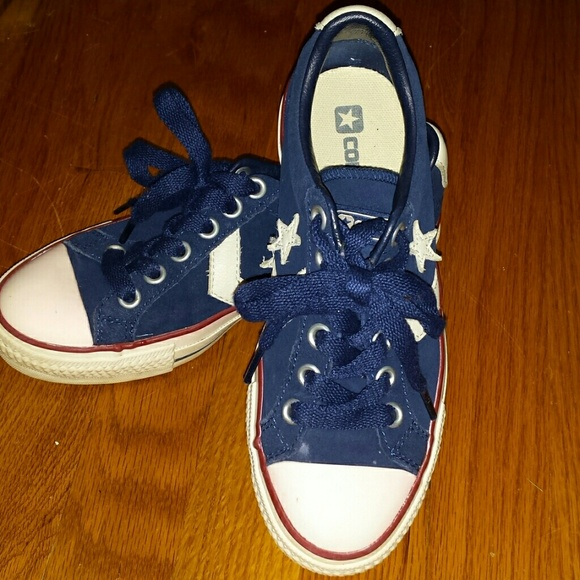 2f5e78955d61 Converse Shoes - Converse Navy Blue Suede nearly vintage NOT Target