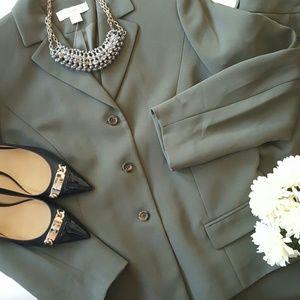 Petite Sophisticate Jackets & Blazers - PETITE SOPHISTICATE | 2 Pc Pant Suit