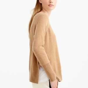 J. Crew Sweaters - J.Crew collection cashmere side split sweater