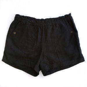 Anthropologie Pants - Anthropolgie black mermaid shorts