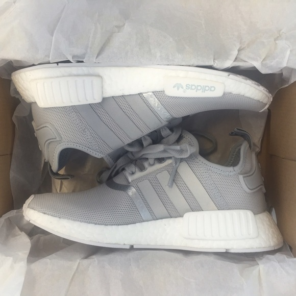 new products 2d082 90554 adidas originals nmd womens Grey