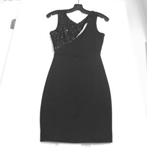 Sexy Little Black Party Dress
