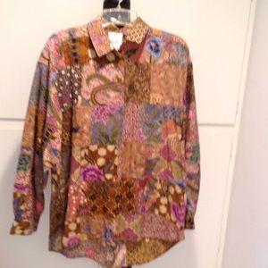 Dresses & Skirts - Vintage patchwork blouse.
