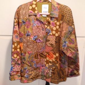 Vintage fully lined quilted jacket