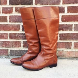J. Crew Shoes - J. Crew Tall Leather Boots