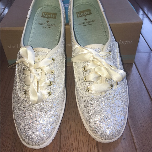 a71b7d68b15 kate spade Shoes - Keds for Kate Spade Glitter