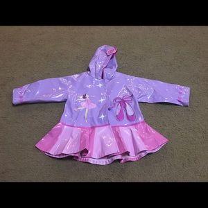 Kidorable Other - Precious Ballerina 2T Raincoat