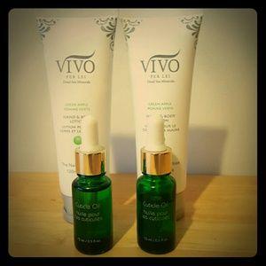 Vivo barefoot Other - Vivo dead Sea minerals hand lotion & cuticle oil