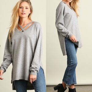 Sweaters - Hi-Low Sweater Top