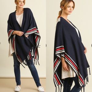 Sweaters - CCO Oversized Poncho Style Cardigan