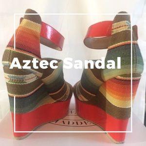 AZTEC  SANDALS- BEAUTIFUL KENNYYA WEDGE