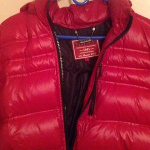 Guess Jackets Amp Coats Bubble Jacket Poshmark
