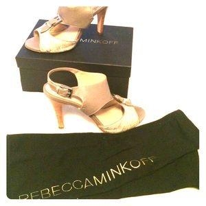 Rebecca Minkoff heeled sandal.