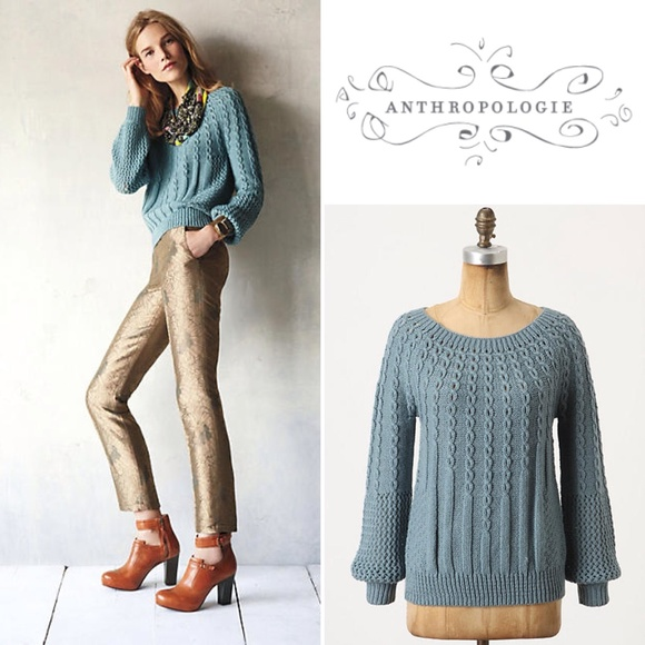 Anthropologie Sweaters - Guinevere Purl-wise Pullover fb6ac7fad