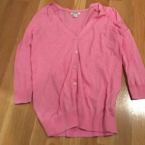 Old navy light pink cardigan