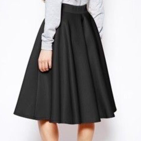 50 fashion to figure dresses skirts black scuba