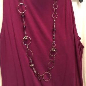 """Jewelry - 40"""" silver necklace"""