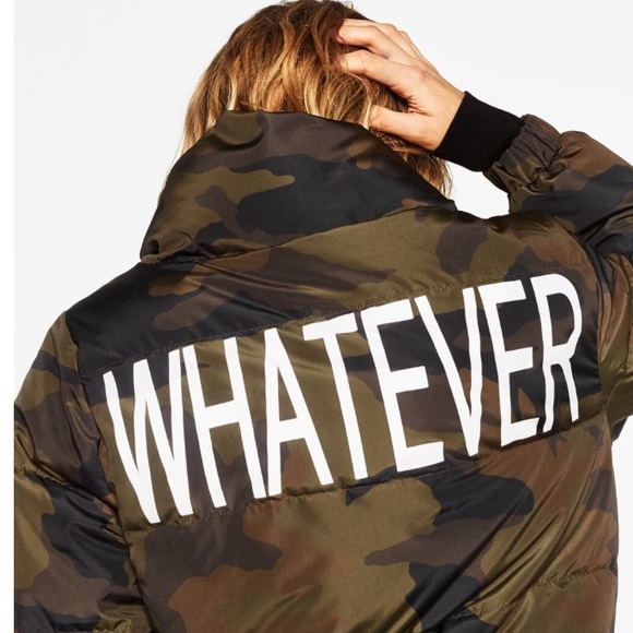 Image result for zara whatever camo jacket