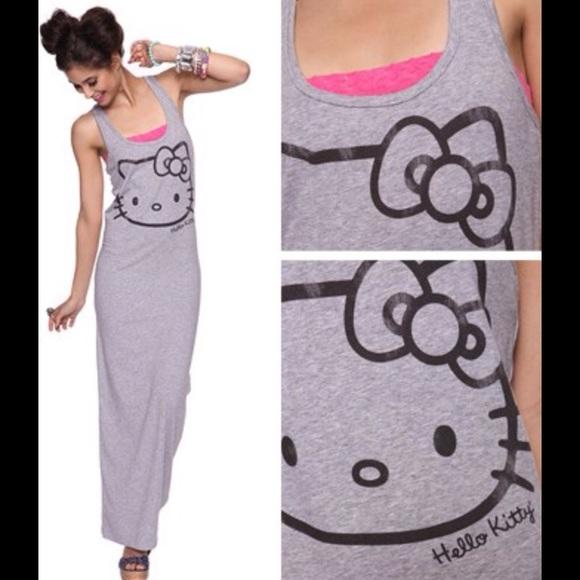 cfea163a6 Forever 21 Dresses   Hello Kitty Tank Maxi Dress   Poshmark