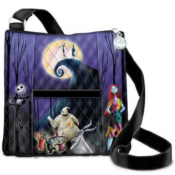 nightmare before christmas crossbody quilted