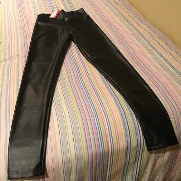 17% off Lotus Leggings Pants - Vegan Leather Lotus ...