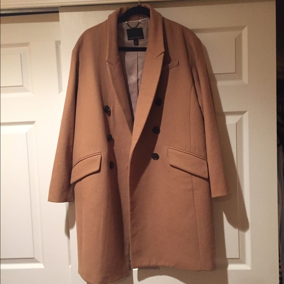 Camel coat women's banana republic
