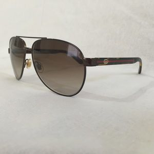 113f89fbb9 Gucci Accessories - Gucci Women s 2898 S Aviator Sunglasses
