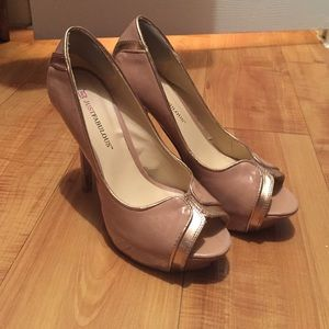 Just Fab Rose Gold heels!