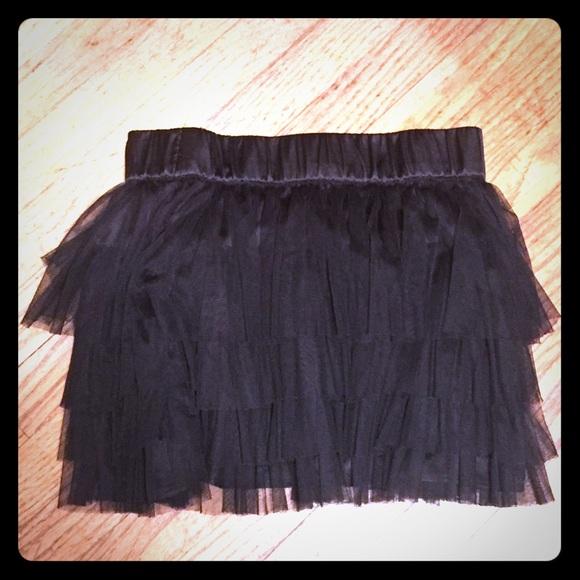 91638dc5e5 H&M Skirts | Hm Black Tulle Mini Skirt | Poshmark