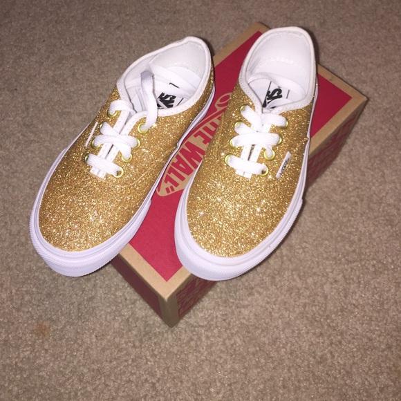 ba5bd7199b8cf9 Vans Poshmark Gold ShoesKids Poshmark ShoesKids Vans Sparkly Gold Sparkly  5jL3A4R