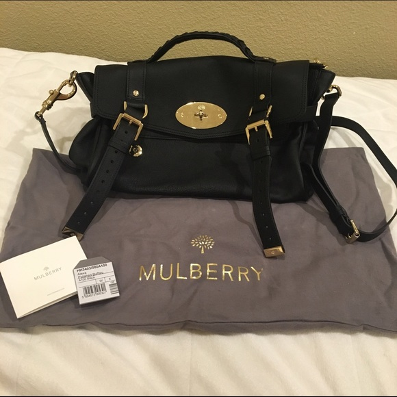 Mulberry Bags   Alexa Medium Leather Satchel   Poshmark 3a080b61e2
