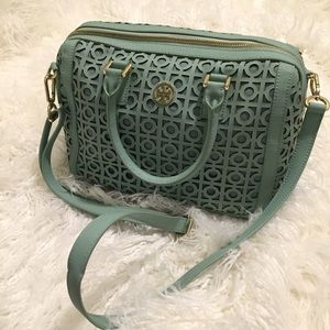 RARE Tory Burch Kelsey Middy Satchel