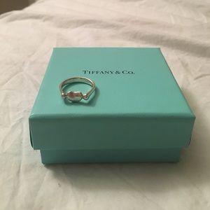Tiffany & Co. Elsa Peretti silver bean ring