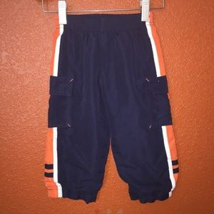 Other - Blue and Orange Windbreaker Type Pants 18 Months