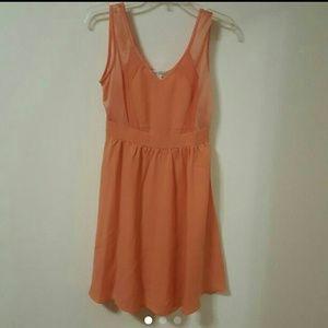 Size S - Coral Short Dress