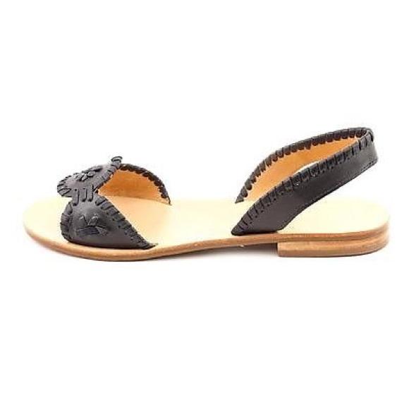 4b8a8a71134d Jack Rogers Shoes - Like New Black Jack Rogers Liliana Sandals