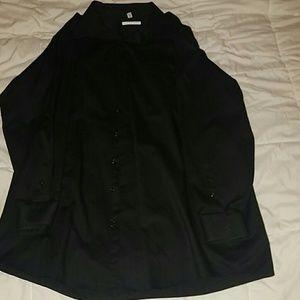 Geoffrey Beene Other - Black Geoffrey Beene Mens Dress Shirt
