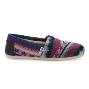 TOMS Shoes - Toms Knit Shearling Classic Slip-ons Shoes