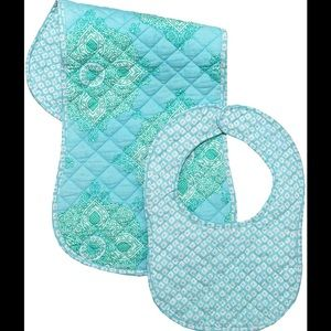 Masala Baby Other - (Lowest) Brand New Masala Baby Bib + Burp Set