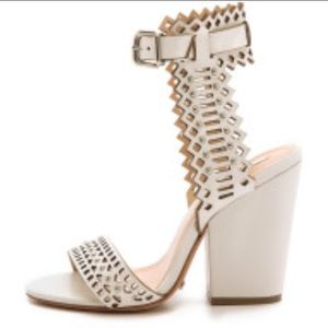 SCHUTZ Shoes - Schutz Anthropologie chunky heel sandals.