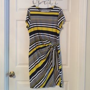 Shelby and Palmer Dresses & Skirts - Navy and yellow dress