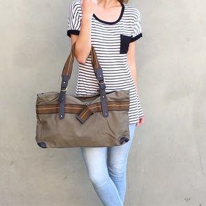 Handbags - army green travel bag