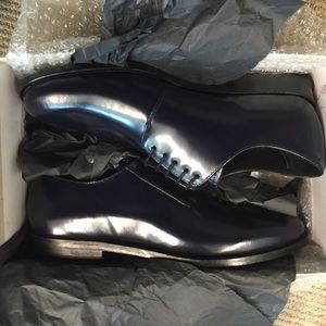 NWT Cos Navy Patent Loafers - CYBER MONDAY SALE