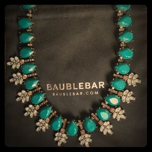 BaubleBar Crystal Wreath Collar