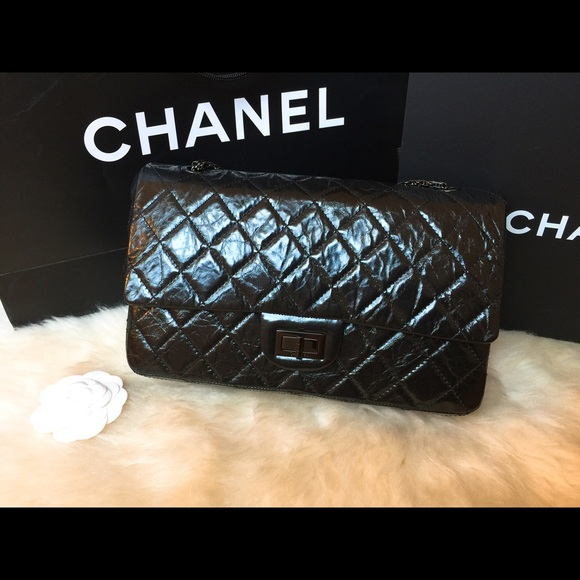 f4c9c2854491 CHANEL Bags | Reissue 255 Flap In 227 Limited So Black | Poshmark