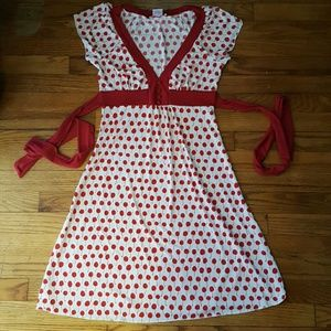 Dresses & Skirts - Cherry Print Dress with a Vintage Rockabilly Look